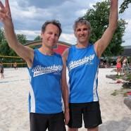 Beach: Titelverteidigung knapp gescheitert. Clasen/Losch Hamburger-Vizemeister Ü47!