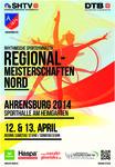 Plakat Regionalmeisterschaften Nord 2014 in der Rhythmischen Sportgymnastik